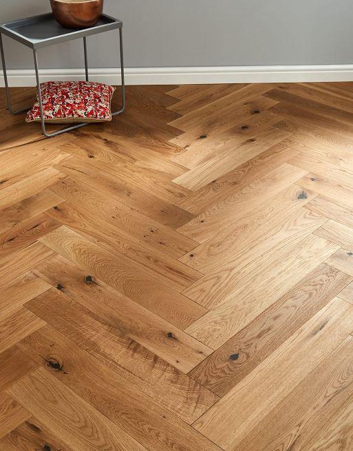Marylebone Harvest Brown Oak Brushed Oiled Engineered Wood Flooring