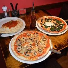 Stingray Italian Restaurant (N London) - One of the first to offer GF pizza and pasta dishes for a small additional fee