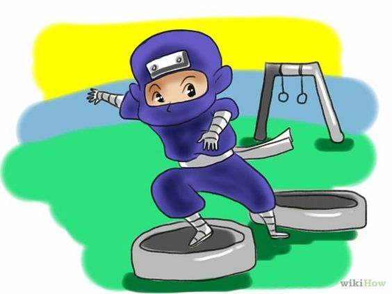 how to train to be a ninja