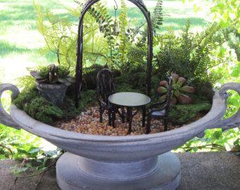 Miniature Garden Formal English Garden Planter Set by GardenBarn
