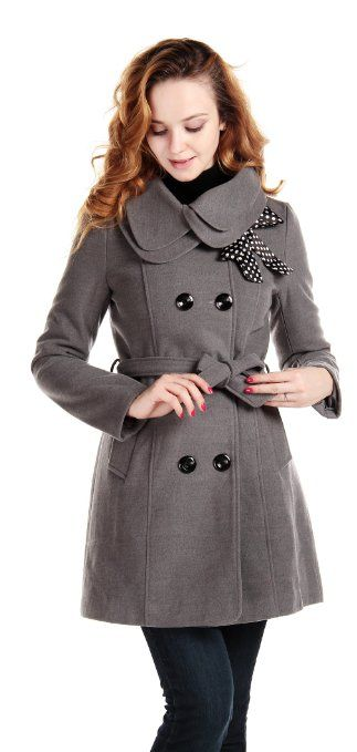 CHAREX Women Wool Blends Coat Slim Trench Winter Coat Long Jacket Outwear. Disclosure. affiliate link.