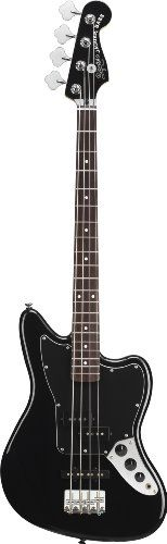 Squier by Fender Vintage Modified Jaguar Special Short Scale Bass, Black - http://www.learntab.com/guitar-deals/squier-by-fender-vintage-modified-jaguar-special-short-scale-bass-black/
