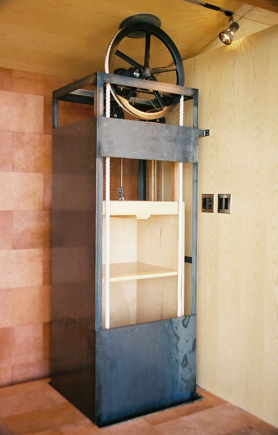 Simple dumbwaiter dumb waiter designs projects to try for Diy home elevator plans