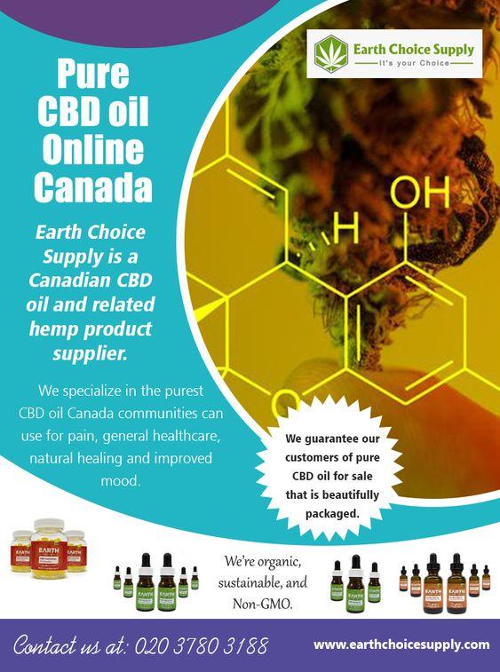 Pure CBD Oil Online Canada