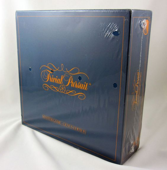 Trivial Pursuit Game Sealed Trivia Vintage Board 1981 Complete Mastergame Genus #SelchowRighter