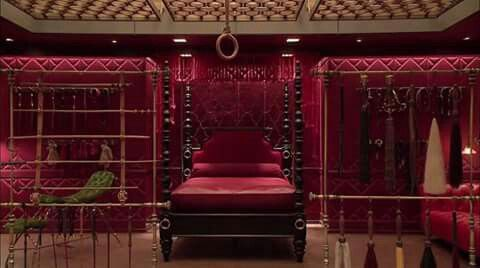 The red room fifty shades of grey red pinterest for Chambre 50 nuances de grey