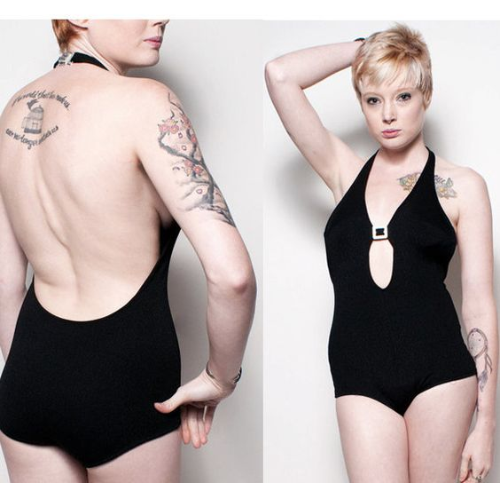 Diamonds Cut Out Swimsuit by rumors on Etsy, $48.00