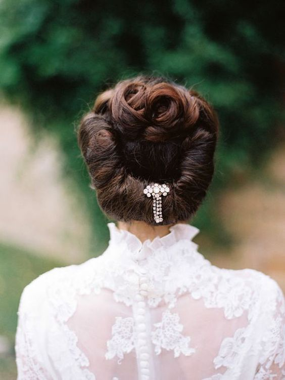 Edwardian wedding hairstyles
