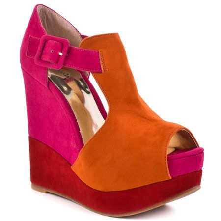 pink orange and shoes pink and orange