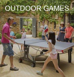 Outdoor Patio Games.: