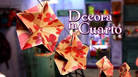 Guirnalda estrellada y papiroflexica - Episodio 11: Crafting Studio