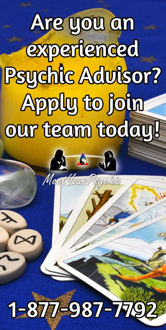 Are you an experienced Psychic Advisor? Apply to join our team today! Psychic Phone Readings 18779877792 #psychic #accurate