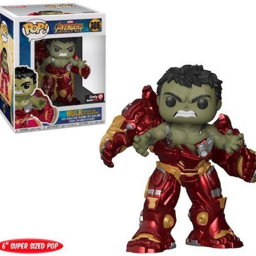 Funko Pop Avengers Infinity War Huk Superized 306 Muñecos Pop Figuras Pop Juguetes Pop