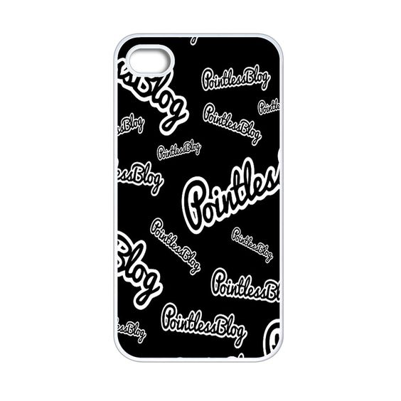 Pointless Blog Black iPhone 4[S] Case