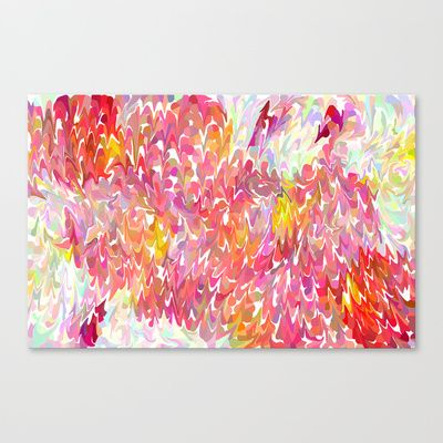 Jellies Stretched Canvas by Catherine Holcombe -