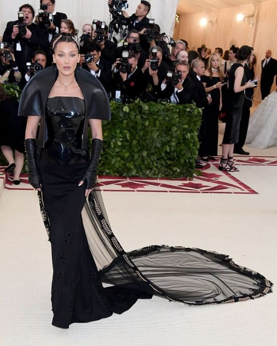 #bellahadid at #metgala2018