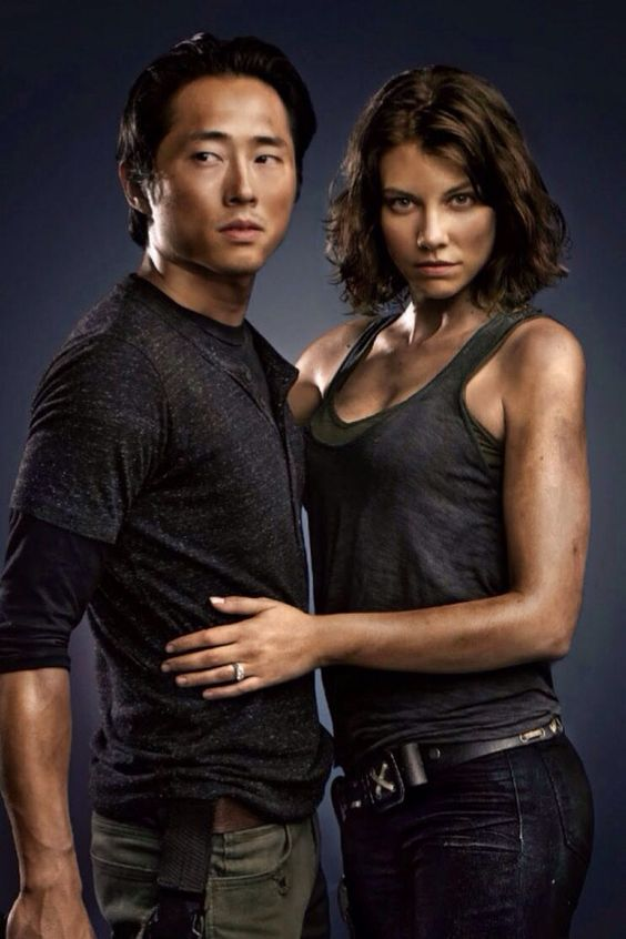 The Walking Dead - Glenn and Maggie.