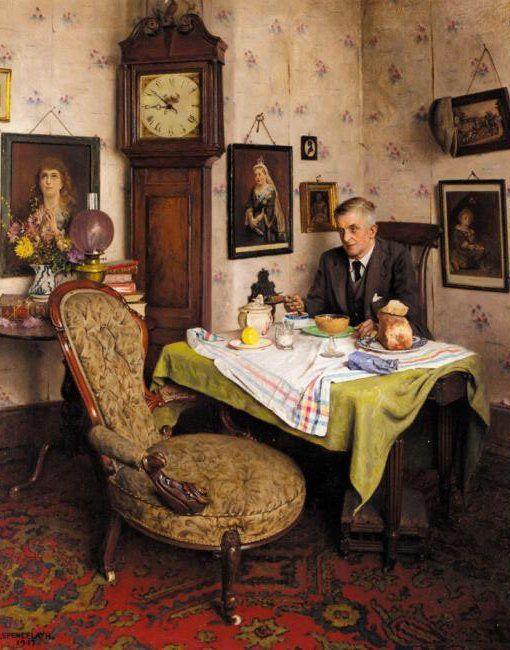"""Charles Spencelayh - Google zoeken """"The Empty Chair"""""""