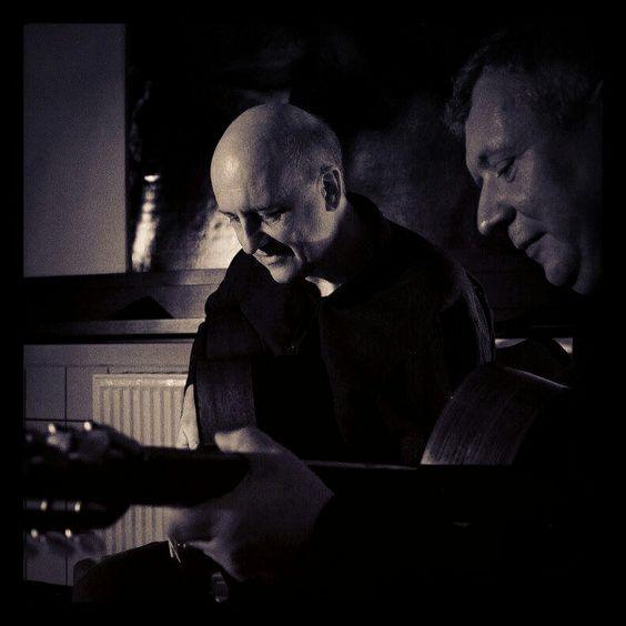 HP und Volker machen Musik