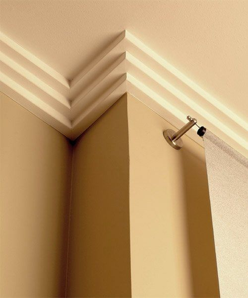More Than Moldings Art Deco Memphis Crown Molding With Images Interior Deco Faux Crown Moldings Small Bedroom Remodel
