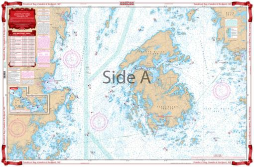Penobscot Bay Camden And Rockport Navigation Chart 103 Navigation Chart Nautical Chart Nautical Map