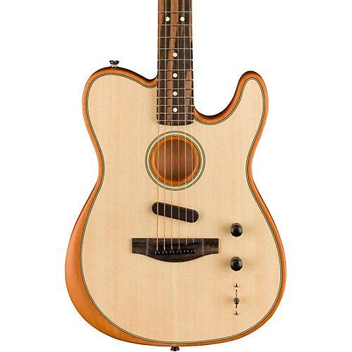 Fender Acoustasonic Telecaster Acoustic Electric Guitar Acoustic Electric Guitar Guitar Electric Guitar