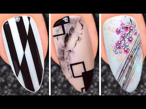 Cute Nail Art Design 2020 Compilation Simple Nails Art Ideas Compilation 373 Youtube In 2020 Cute Nail Art Designs New Nail Art Design Simple Nail Art Designs