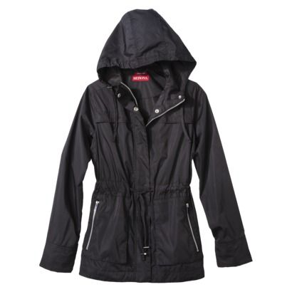 Black Rain Jacket http://www.target.com/p/merona-women-s-anorak