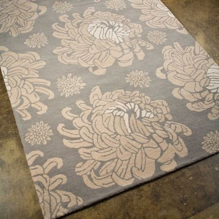 I pinned this Chrysanthemum 2' x 3' Rug in Grey from the Jaipur Rugs event at Joss & Main!