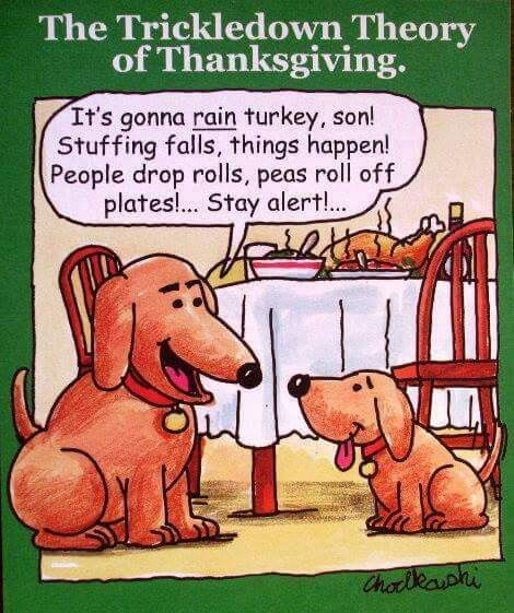 It's almost that time of year again. Be thankful!: