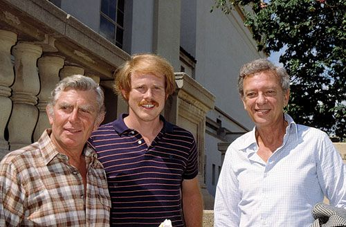 ron howard and andy griffith relationship