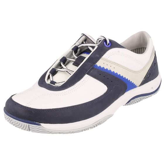 LADIES TIMBERLAND  TRAINERS  WHITE /BLUE  STYLE - 27644 / FRMTR FOR W LTH OX