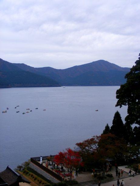 Lake Hakone  Kanagawa, Japan Taken from Hakone Checkpoint 2008