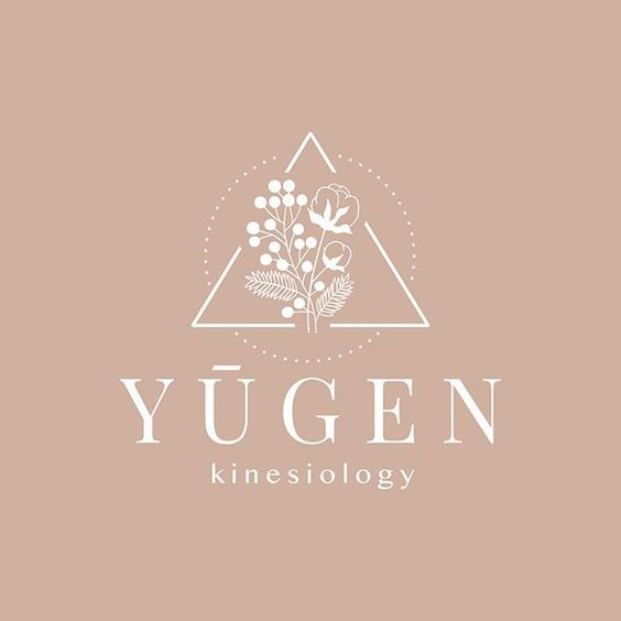 yugen kinesiology logo with flowers