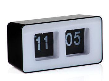 Auto Desktop Flip Clock - Black