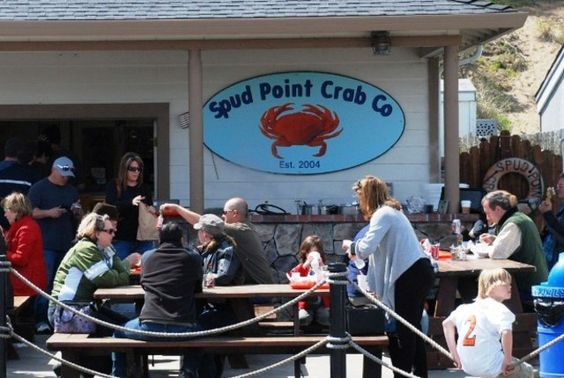 Spud Point Marina Crab Co., Bodega Bay, California