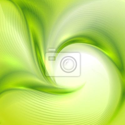 Wall Mural Abstract Green background