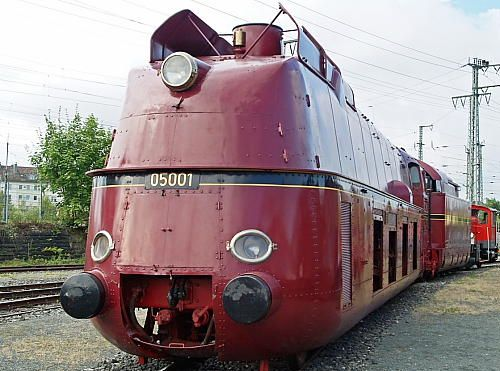 Not only the 05 001 belongs to the sights of the DB Museum.  Photo: Deutsche Bahn AG