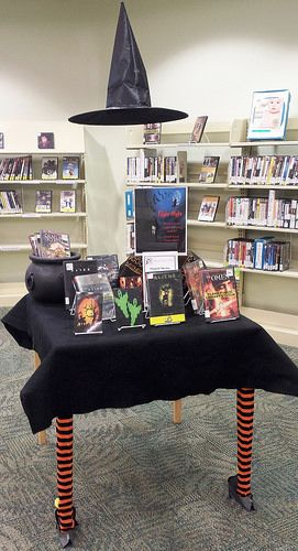 Schimelpfenig Library October 2014: Fright Night!!! Which horror movie will you watch? Check it out if you dare. www.planolibrary.org
