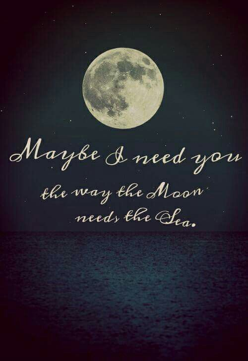 Love Friendship Moon Quotes Moon Words
