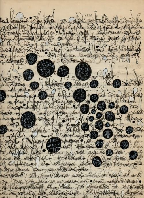 Cecil Touchon, Palimpsest Asemic Correspondence