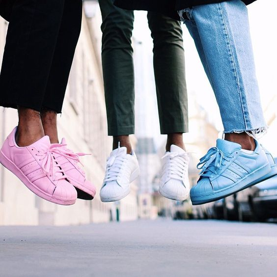 Adidas supercolor sneakers | ILikeItThatWay: