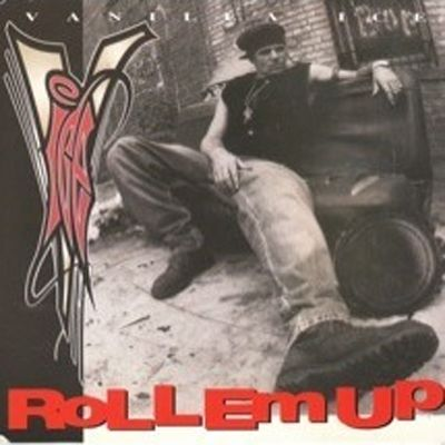 Vanilla Ice – Roll 'Em Up (single cover art)