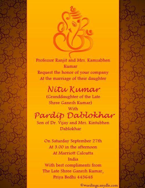 Hindu Wedding Invitation Template Fresh Indian Wedding Invitation Wording Indian Wedding Invitation Cards Hindu Wedding Invitations Wedding Invitation Message