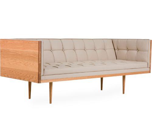 box sofa large - oak