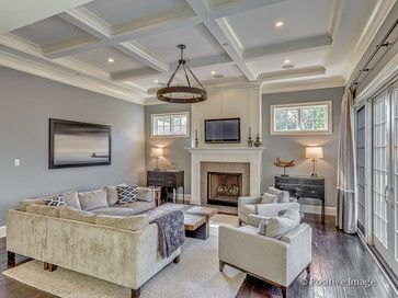 Sherwin Williams 7073 Network Grey Family And Living