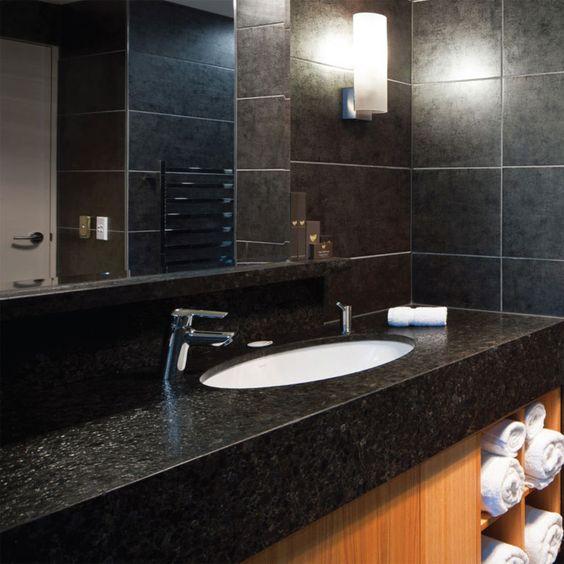 Naturstein Waschtische geben jedem Bad eine persönliche Note   - küchenarbeitsplatten online kaufen