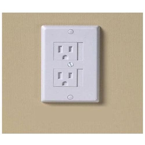 Kidco universal sliding electric outlet cover new Electrical outlet covers