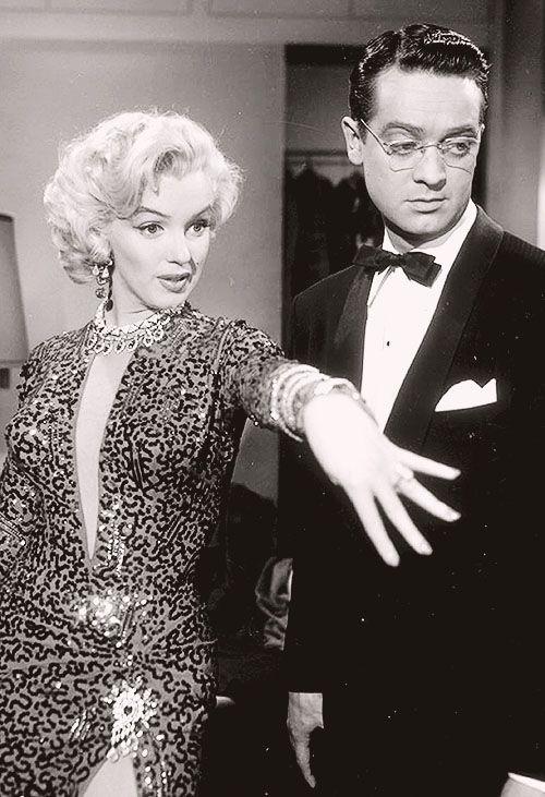 """Marilyn Monroe """"Gentlemen Prefer Blondes"""" 1953"""