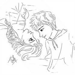 Jelsa By Natashanadd Elsa Coloring Pages Jack Frost And Elsa Jelsa